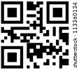 qr code for smart phone - stock vector