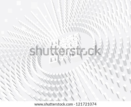 Qr Code. Light Abstract Vector Background - stock vector