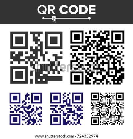 qr code text and url search