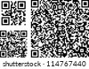 QR codes of different complexity - stock photo