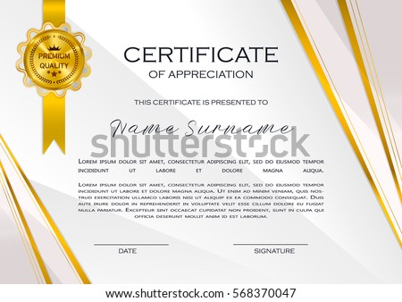 Certificate Frame Stock Images, Royalty-Free Images & Vectors