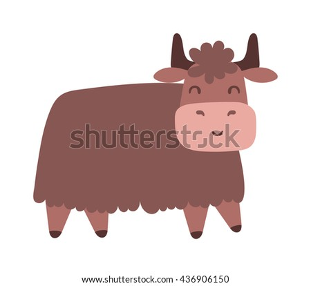 Quality brown bull vector silhouettes standing and ready to charge. Bull corrida cow ranch mascot male animal, run horn. Bull domestic danger mascot, angry strong farm animal. - stock vector