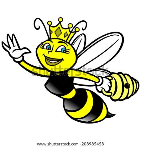 Queen Bee Logo Queen Bee - sto...