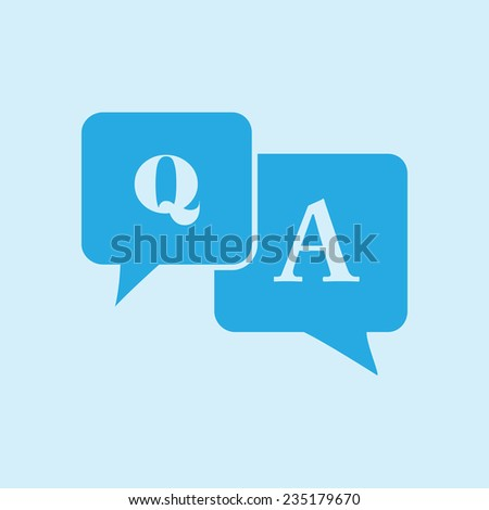 Question answer icon  ...
