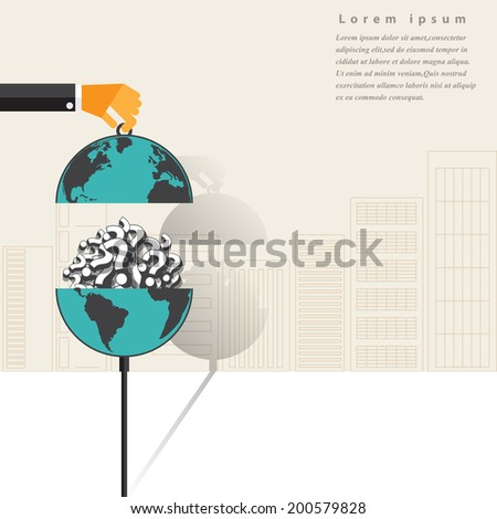 Question concept  in flat design for web, mobile applications, seo optimizations, business, social networks, e-commerce,planning and teamwork - stock vector