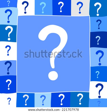 Question mark icon. Help symbol. Vector Illustration - stock vector