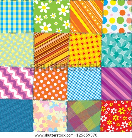 Patchwork Quilt Stock Images Royalty Free Images