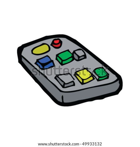 cartoon remote control stock images royaltyfree images