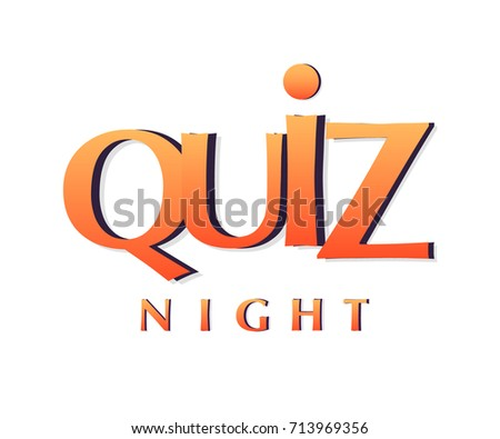 Quiz night banner poster template stock vector 713969356 shutterstock quiz night banner poster template toneelgroepblik Image collections