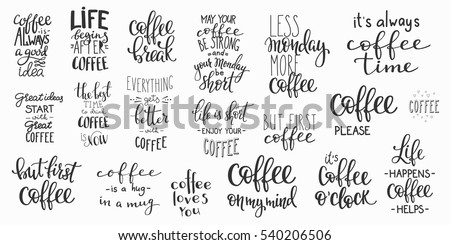 Calligraphy Style Quote Shop Promotion Motivation Graphic Design Lifestyle