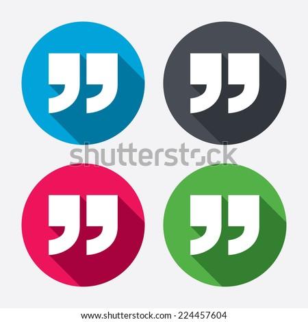 Quotations Symbol