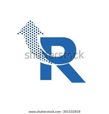 Rn Stock Photos ...R Design Letter