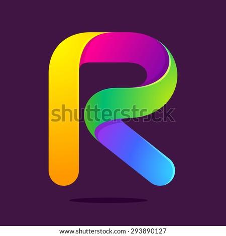 rainbow logo stock images royalty free images vectors. Black Bedroom Furniture Sets. Home Design Ideas