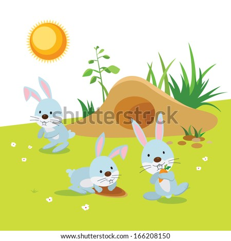 rabbit hole stock images royaltyfree images amp vectors