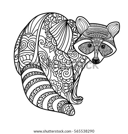tribal animal coloring pages - photo#27