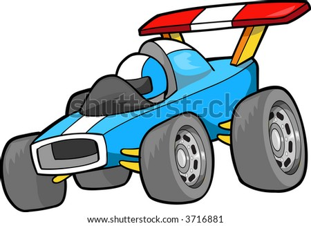 Race car Vector Illustration