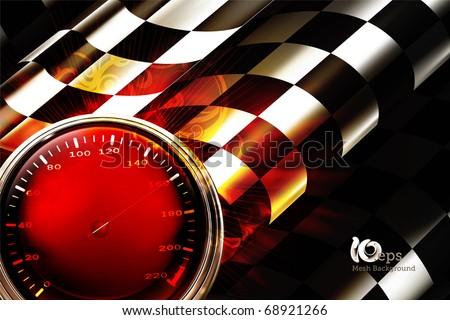 Racing Background Horizontal, 10eps - stock vector