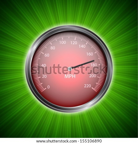 Racing background with speedometer. EPS10 vector
