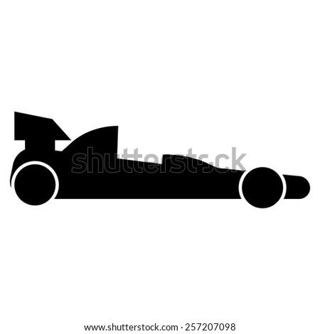 Racing Car formula - stock vector
