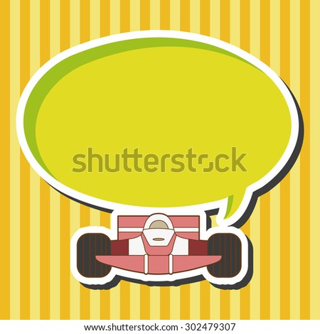 racing car theme elements vector,eps