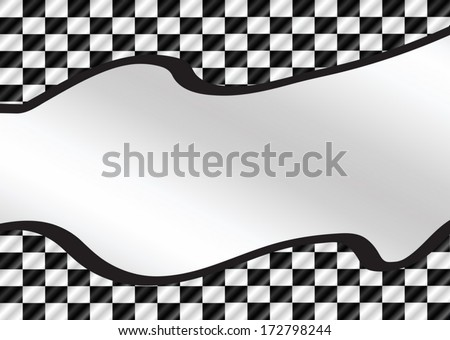 Racing flags Background checkered flag themes idea design - stock vector