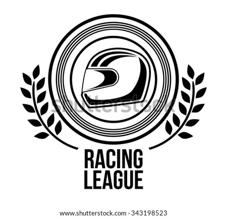 racing league design, vector illustration eps10 graphic