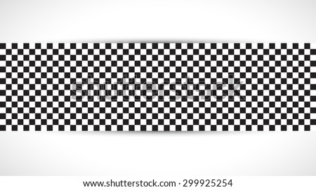 Racing square background, vector illustration abstraction in racing car track - stock vector