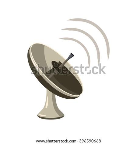 Radar icon - stock vector