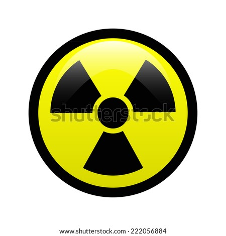 Radiation symbol - stock vector