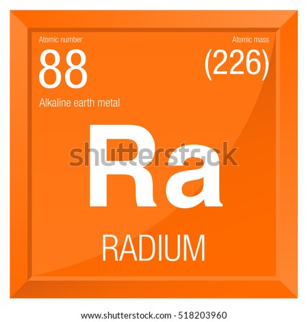 Radium symbol element number 88 periodic stock vector 518203960 radium symbol element number 88 of the periodic table of the elements chemistry urtaz Gallery