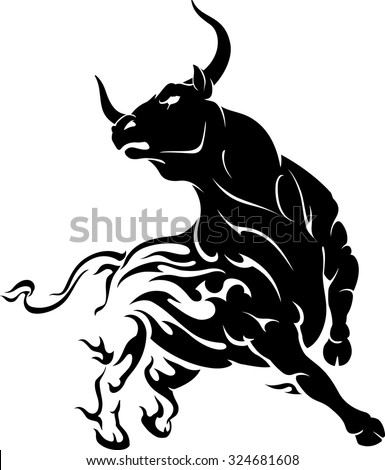 bull stock photos royalty free images vectors shutterstock. Black Bedroom Furniture Sets. Home Design Ideas