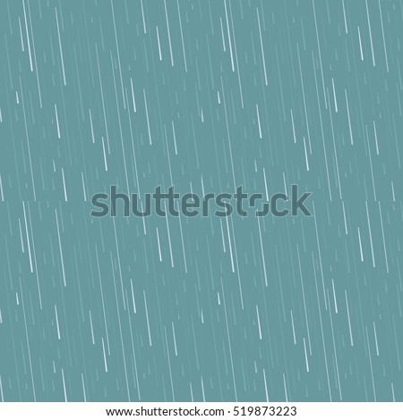 Rain drops pattern vector background. Blue waterdrop rainy element design