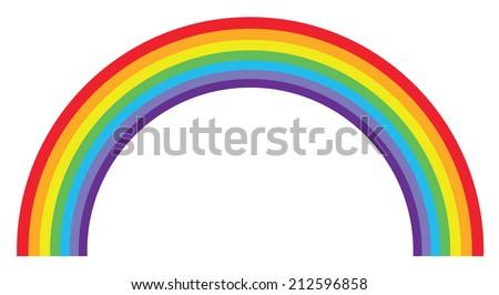 Rainbow - stock vector