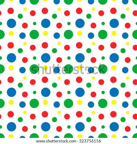 rainbow green red blue yellow white stock vector 323756156