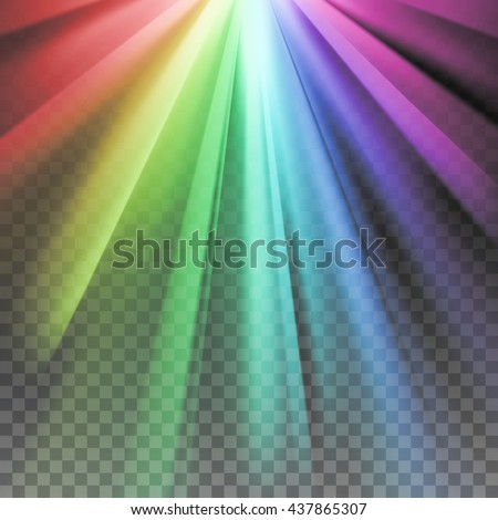 Spectrum color shiny, bright abstract spectrum light Gay flag grunge