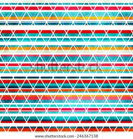 rainbow stripes seamless texture - stock vector