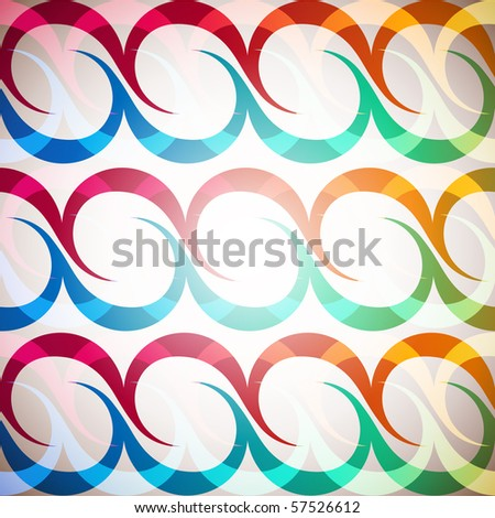 rainbow waves background