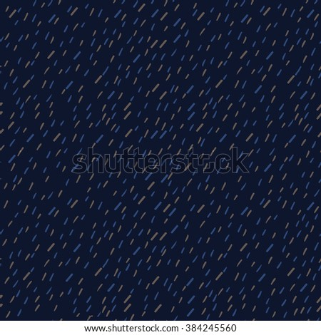 Raindrops Pattern Seamless. Raindrops Pattern Background. Surface Raindrops Pattern. Textile Raindrops Pattern - stock vector
