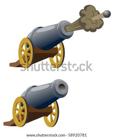 Ramadan Cannons-vector - stock vector