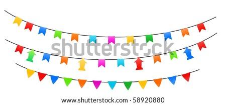Ramadan Street Decoration 1-vector - stock vector