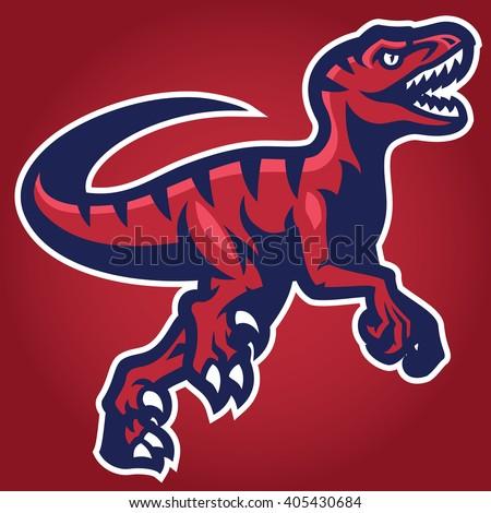 Raptor Mascot - stock vector