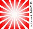 rays background - stock vector