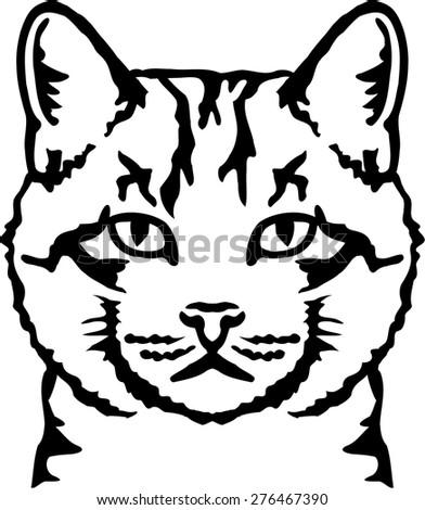 cat head stock photos royalty free images vectors. Black Bedroom Furniture Sets. Home Design Ideas