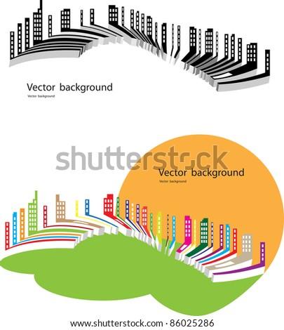 real estate - stock vector