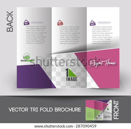 apartment brochure design. Real Estate Agent Tri-Fold Mock Up \u0026 Brochure Design Apartment
