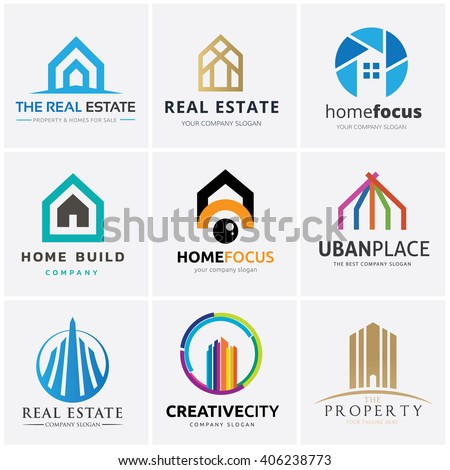 Construction logo stock images royalty free images for Household design company