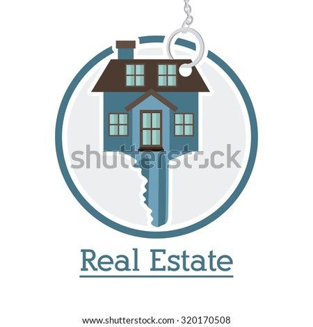 Real Estate concept about building design, vector illustration eps 10 - stock vector
