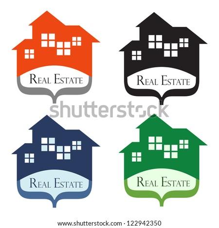 Real Estate Design Concepts. - stock vector