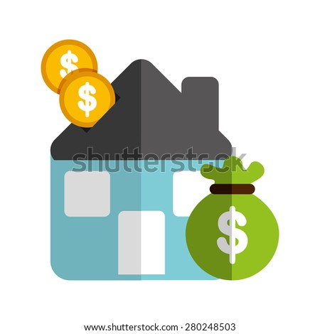 real estate design, vector illustration eps10 graphic