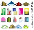 Real Estate. Elements for design. Vector illustration. - stock vector